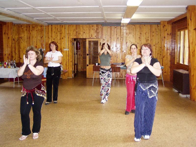 nácvik choreografie